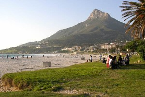 Camps Bay in winter